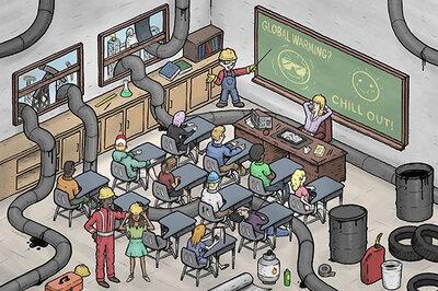 Oil's pipeline to America's schools.