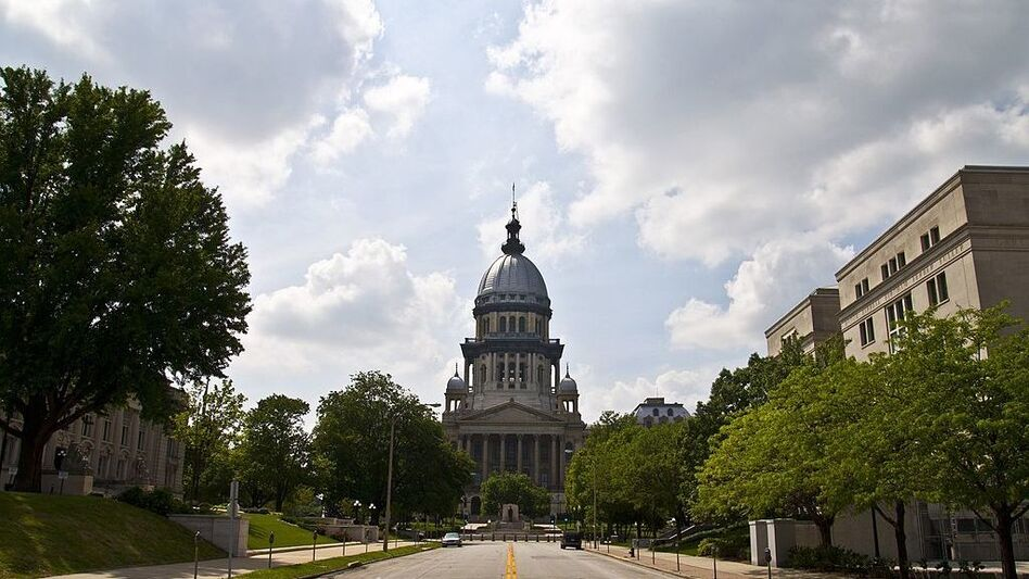 Lawmakers had to be called back to the Illinois State Capitol in Springfield to override the governor's veto and pass a budget deal with bipartisan support.