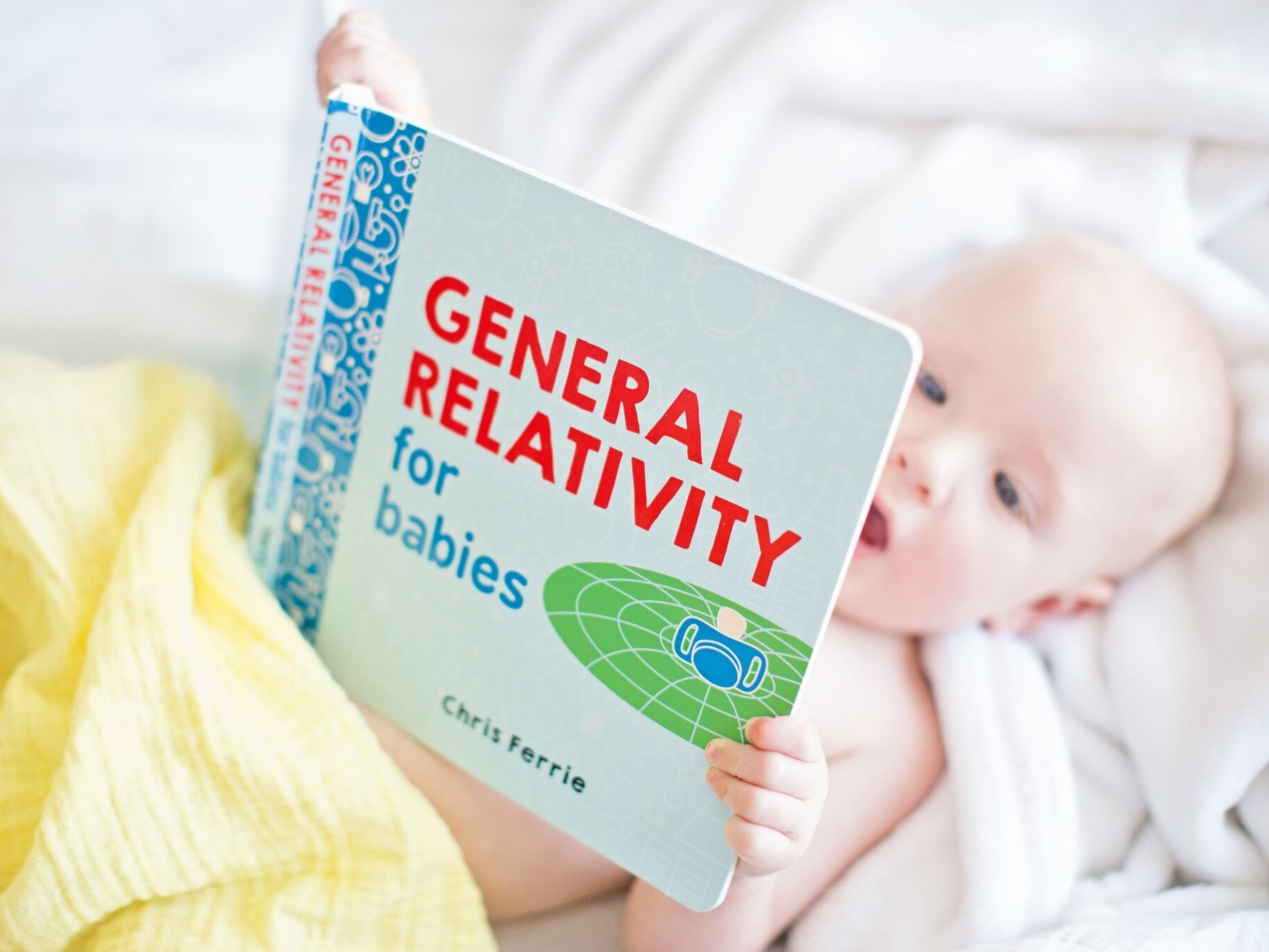 Something New For Baby To Chew On: Rocket Science And Quantum Physics