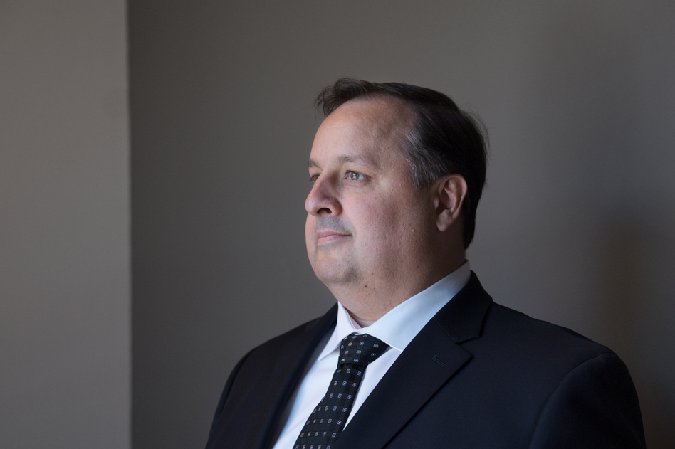 Walter Shaub resigned this week as director of the Office of Government Ethics, effective later this month. (Claire Harbage/NPR)
