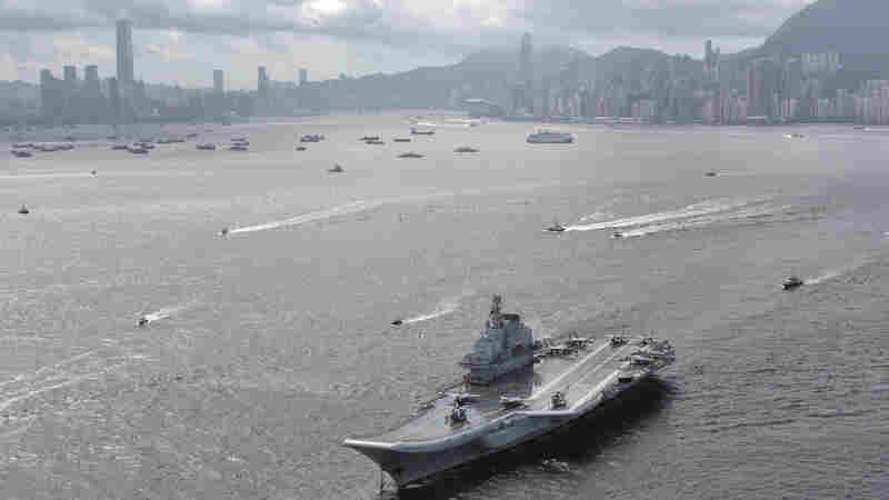 Chinese Carrier Makes First Hong Kong Port Call