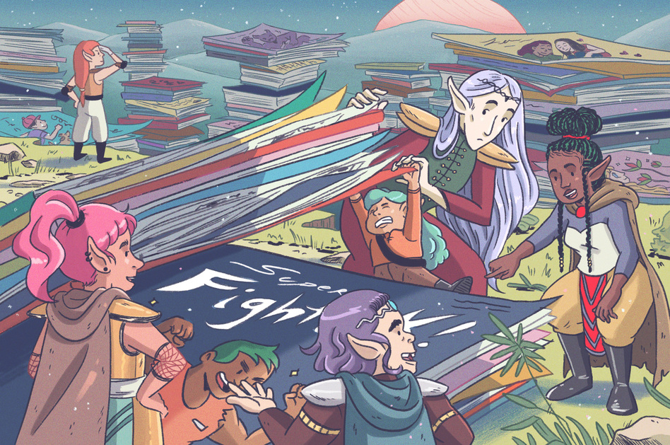 We've searched shelves, shops and sites across the universe to bring you some really great comics. (Shannon Wright for NPR)