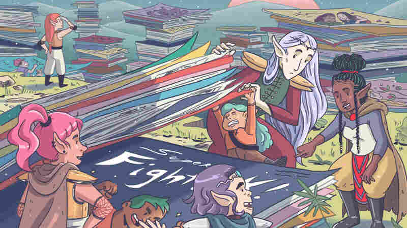 Let's Get Graphic: 100 Favorite Comics And Graphic Novels