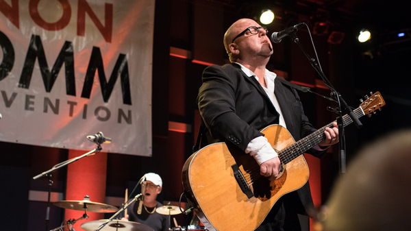 The Pixies perform live at a WXPN Free At Noon concert during the 2017 NON-COMMvention.