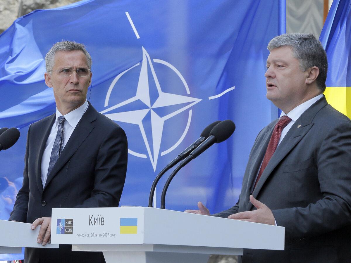 Ukraine recommits to NATO