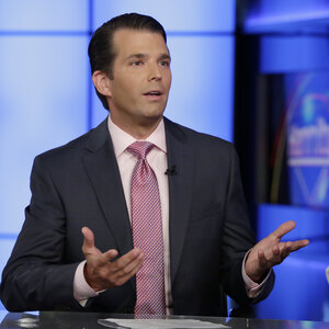 Trump Jr. Says 'In Retrospect' He Would Have Handled Russia Meeting Differently