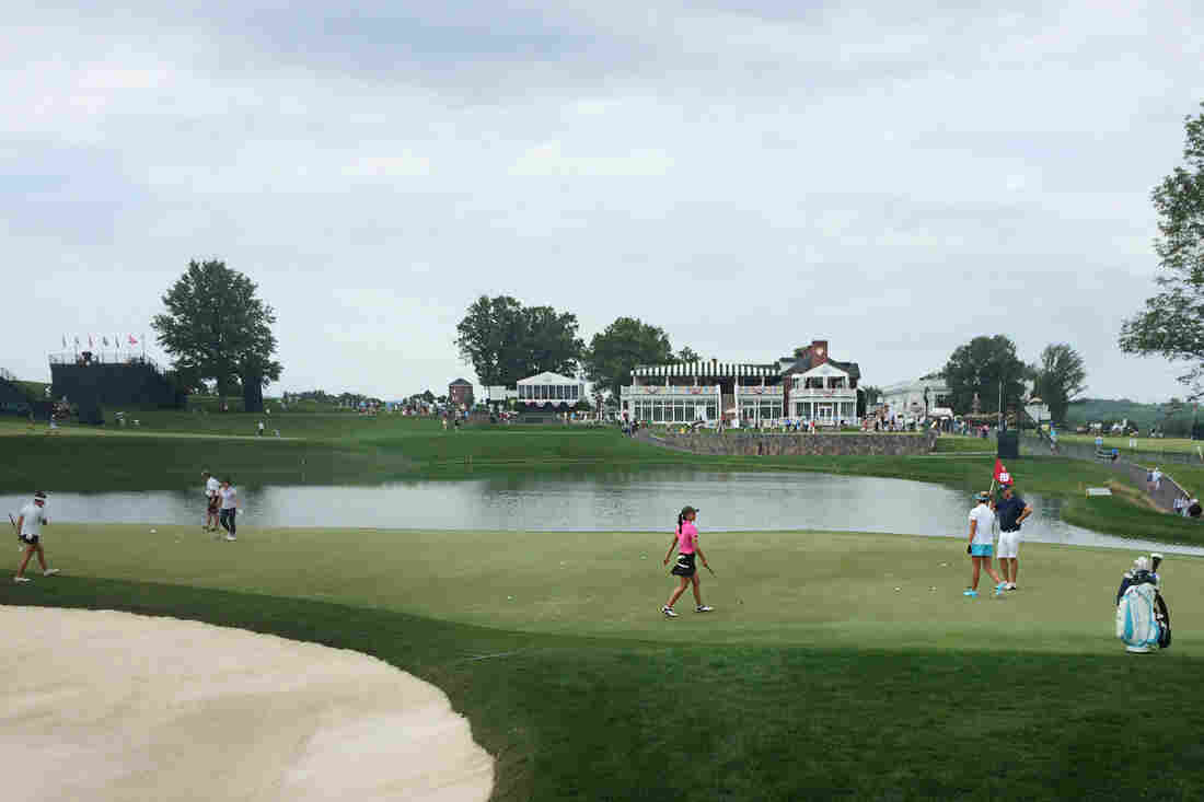 Play Suspended At US Women's Open