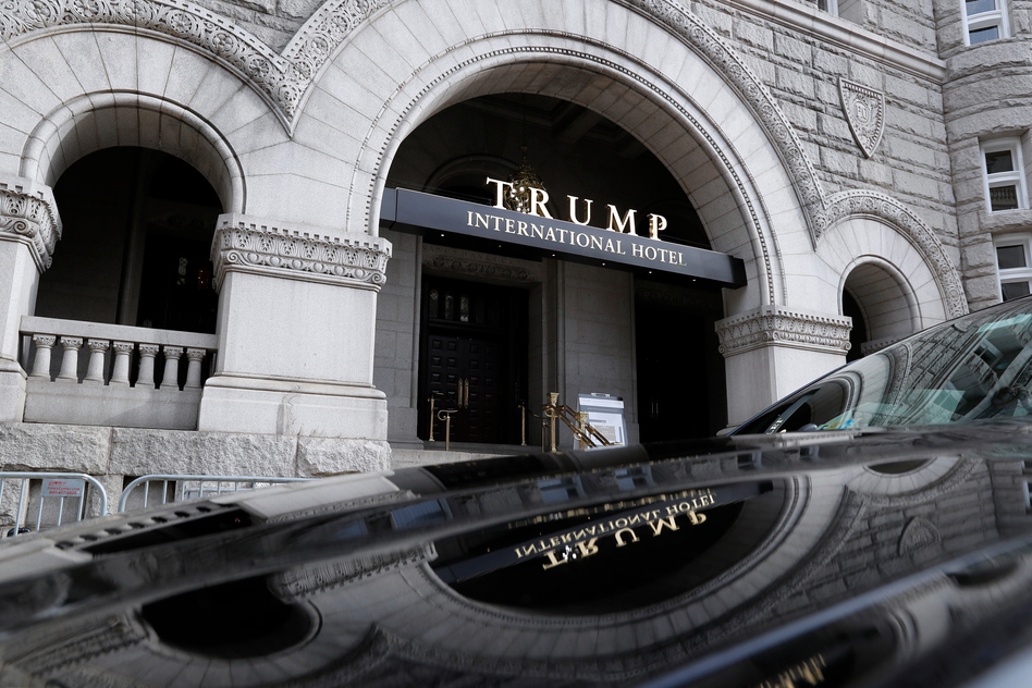 The Trump International Hotel in Washington, D.C., was first hacked on Nov. 7 — the day before the election.