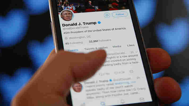 Lawsuit Says It's Unconstitutional For President Trump To Block Critics On Twitter