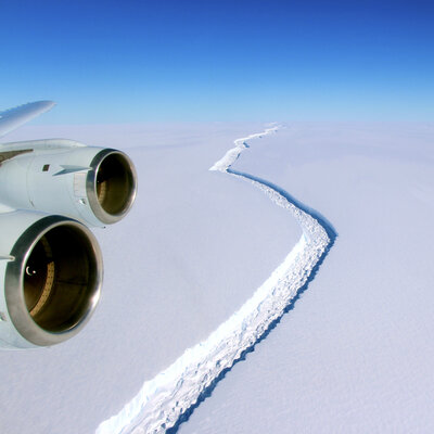 Massive Iceberg Breaks Free In Antarctica