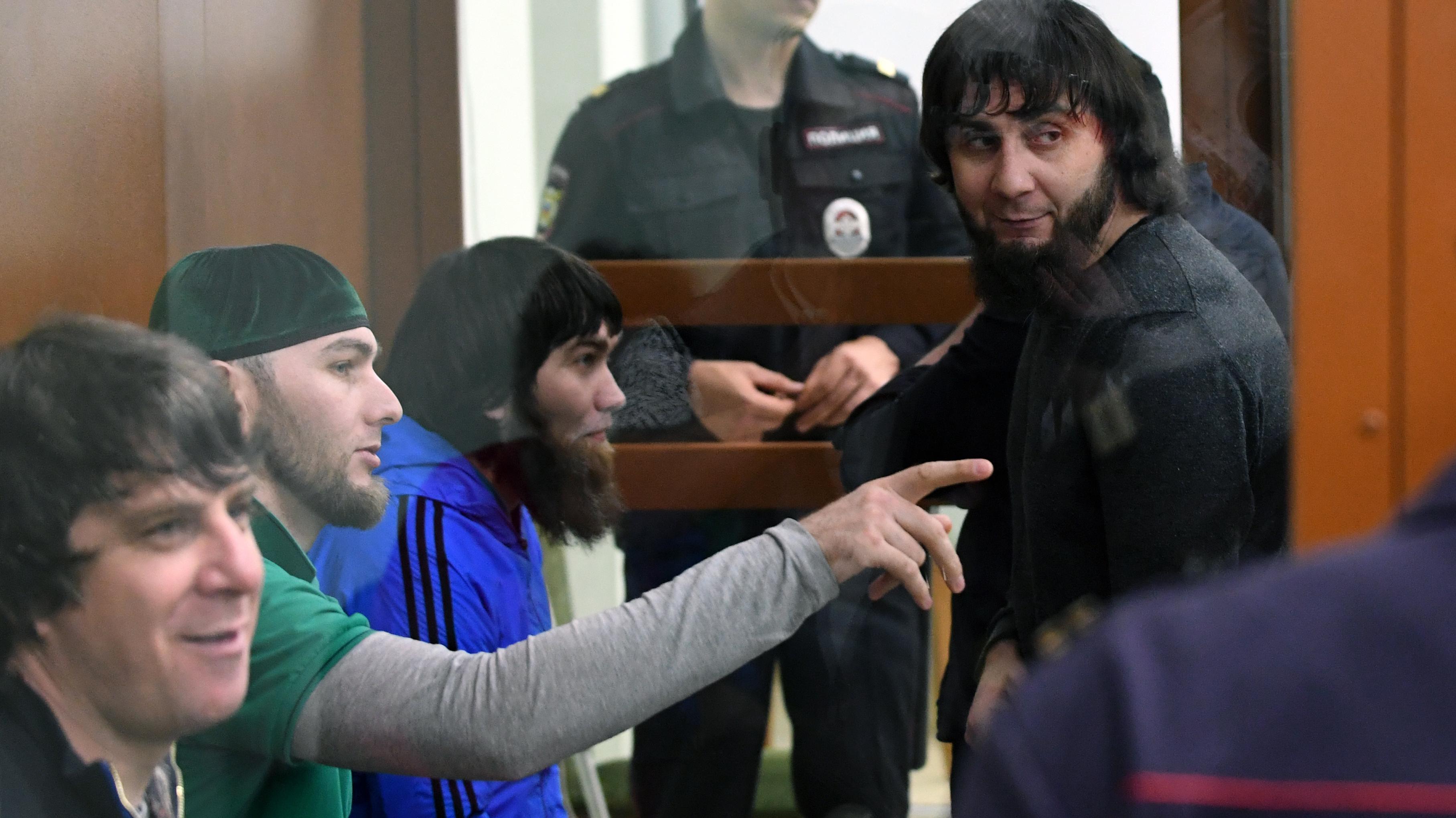 Boris Nemtsov murder: Five Chechens handed prison sentences