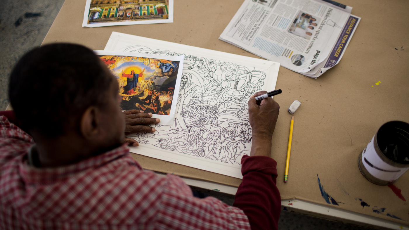 Art Studio Helps Adults With Disabilities Turn Their