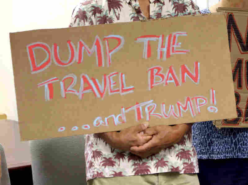 Trump Administration Asks Supreme Court To Block Travel Ban Ruling