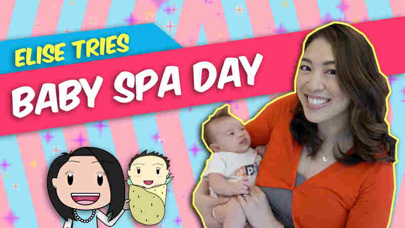 Video: In Skin-Care-Obsessed South Korea, Even A Baby Can Get A Facial