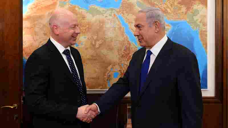 For New U.S. Mideast Peace Envoy, It Will Be A Long Road To 'Ultimate Deal'