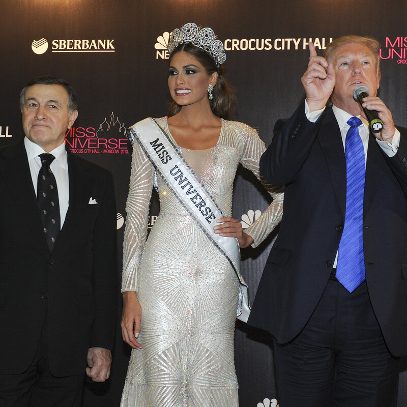At The 2013 Miss Universe Contest, Trump Met Some Of Russia's Rich And Powerful