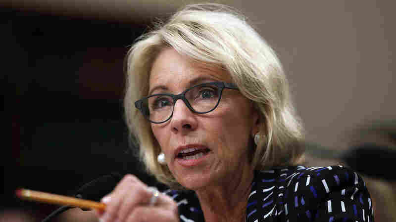 Uproar Over Education Department Officials' Approach To Campus Sexual Assault