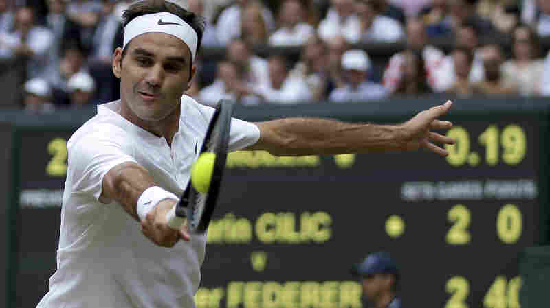 Federer Seizes Record 8th Wimbledon Title, Beating Cilic In Straight Sets