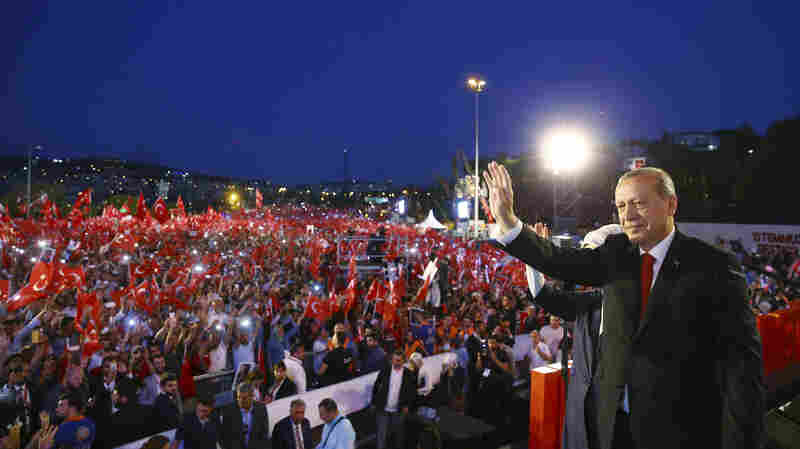 A Year Later, A Divided Turkey Remembers Failed Coup Attempt