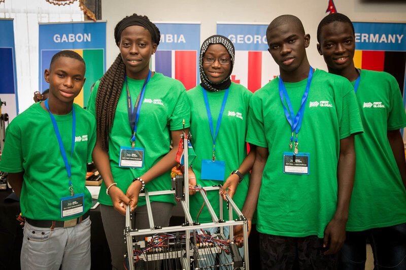 Meet Team Gambia The Other Robotics Team That Almost Didn T Make