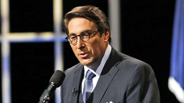 Jay Sekulow, Chief Counsel of the American Center for Law and Justice, introduces Republican presidential candidate former Florida Gov. Jeb Bush during a Presidential candidate forum in Virginia Beach, Va., in Oct. 2015.