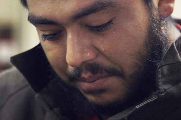 Antonio Jimenez had drug and burglary convictions when he was picked up by ICE. He told his 15-month-old son and wife goodbye and now awaits deportation back to Mexico.