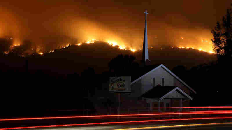 'Extreme And Aggressive' California Wildfires Force Thousands To Evacuate