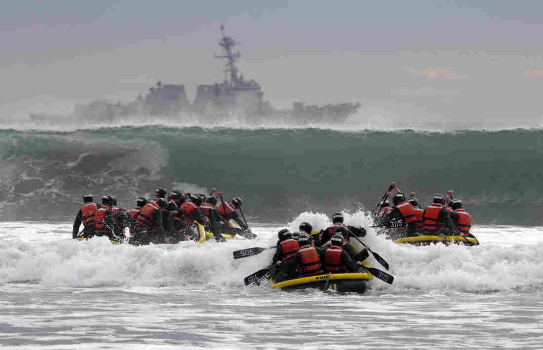 First woman enlists to become Navy SEAL
