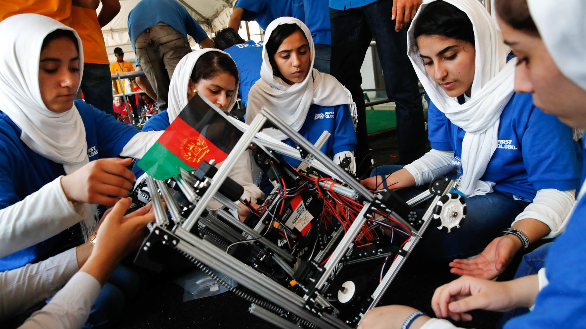 npr.org - How Did The Afghan All-Girl Team Do At The Robotics Competition?