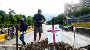 Fear And Fury In Venezuela, As Strike Protesting 'Dictatorship' Begins