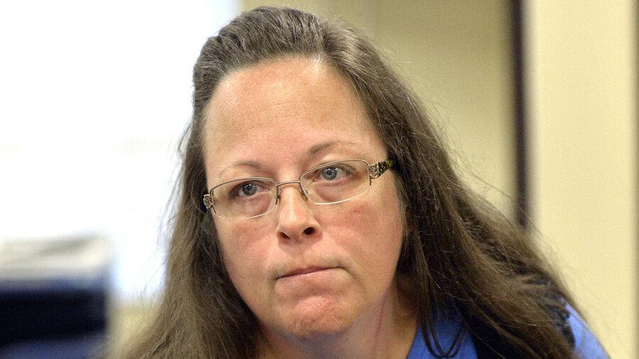 Man denied gay 'marriage' license by Kim Davis seeks to unseat her ...