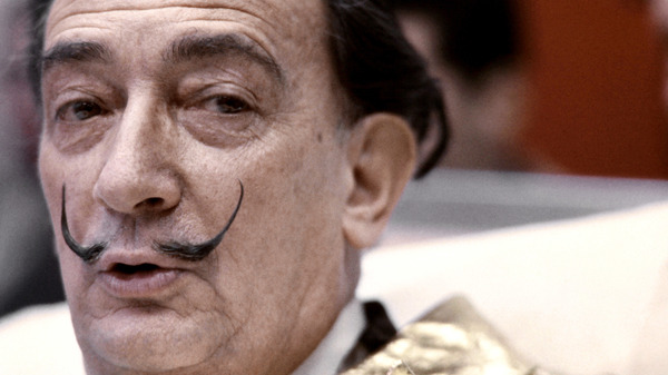 Salvador Dali in 1971.