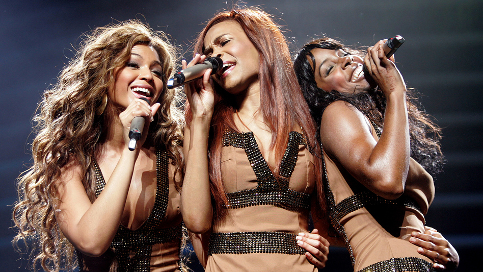 Beyonce Knowles, Michelle Williams and Kelly Rowland of Destiny's Child in 2005.