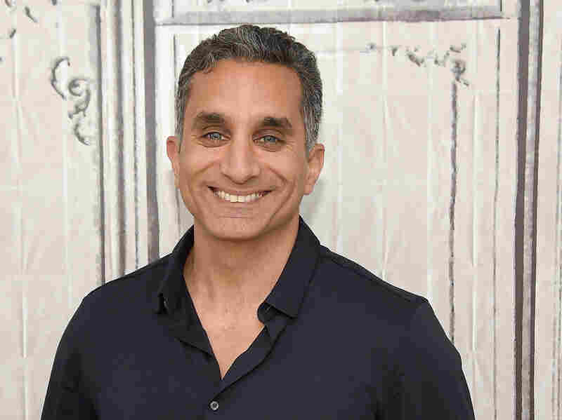 Bassem Youssef attends the AOL Build Speaker Series in New York on July 6, 2016.