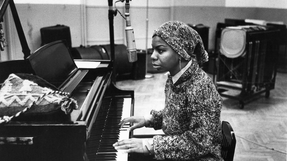 Nina Simone in the recording studio in approximately 1967. (Gilles Petard/Redferns/Getty Images)
