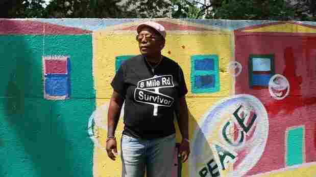 In Detroit, A Colorful Mural Stands As A Reminder Of The City's 'Segregation Wall'