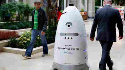I Sink, Therefore I Am: This Robot Wasn't Programmed For Existential Angst