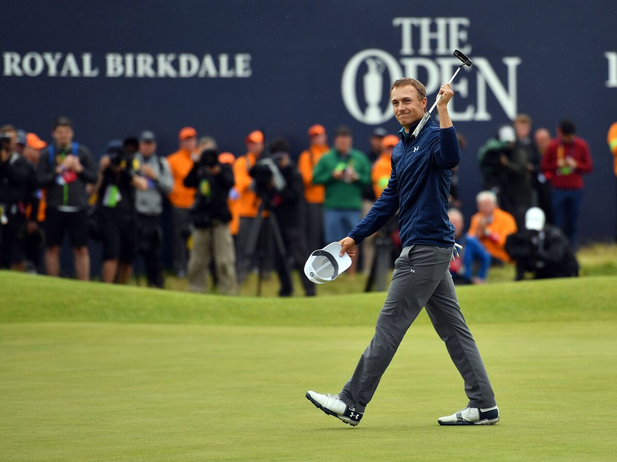 american jordan spieth wins golf u0026 39 s british open   the two