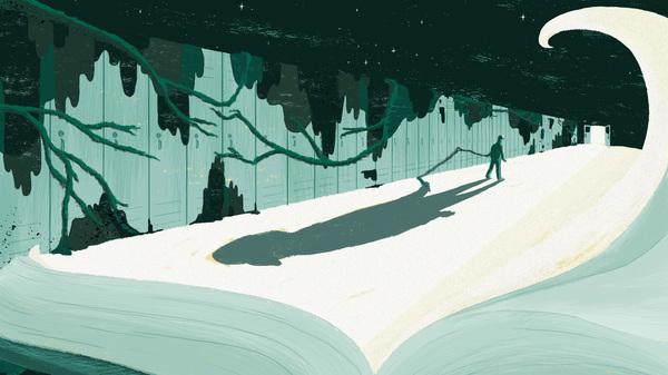 Teen dystopian fiction world