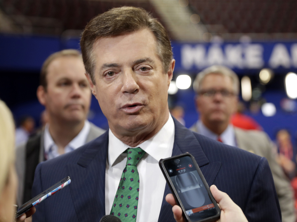 Paul Manafort, President Trump's former campaign manager, has extensive ties to a pro-Russia political party in Ukraine, making him a person of high interest to congressional committees investigating Russia's role in the 2016 election. (Matt Rourke/AP)