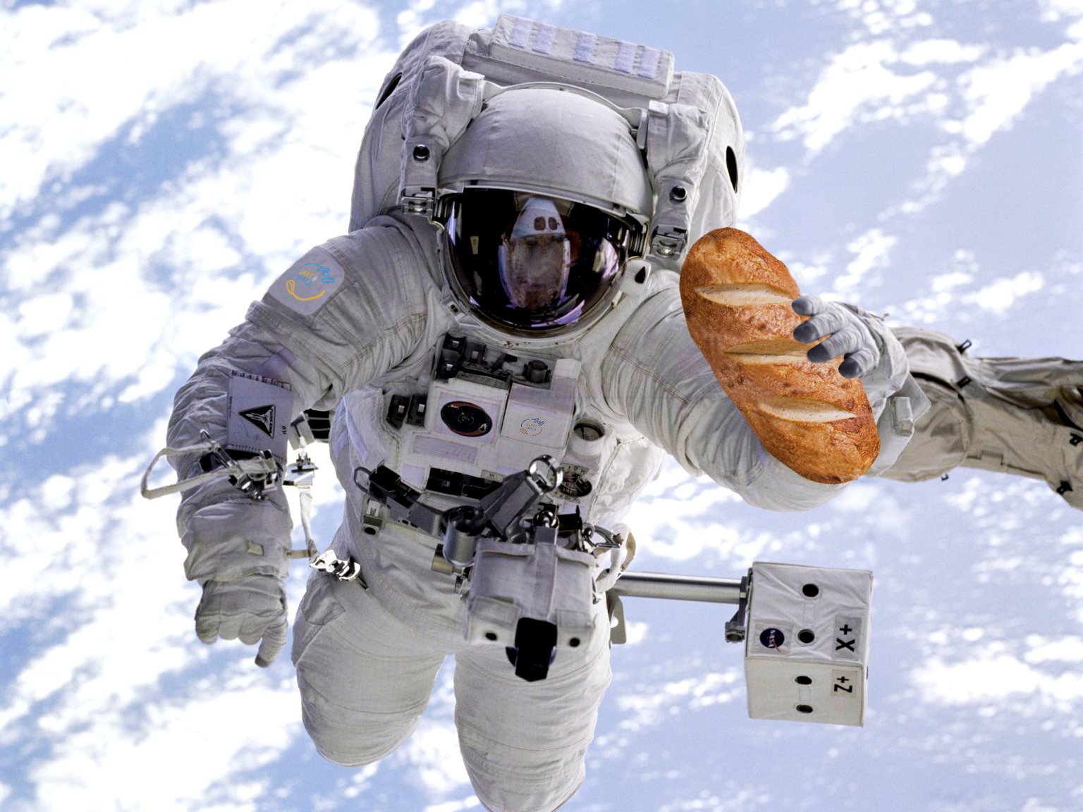 3, 2, 1 ... Bake Off! The Mission To Make Bread In Space