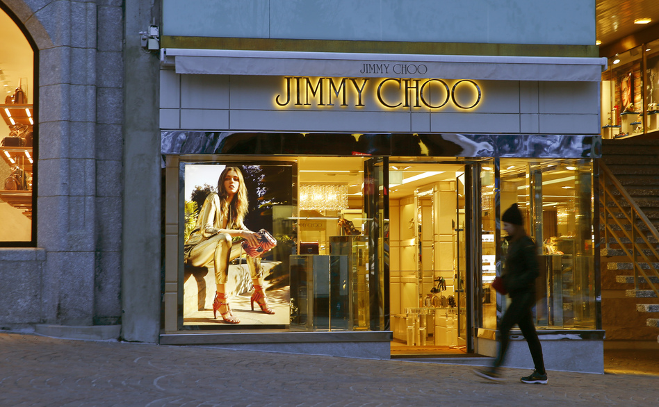 dedc39f27a The geographic diversity of shoe designer Jimmy Choo locations was among  the selling points for Michael
