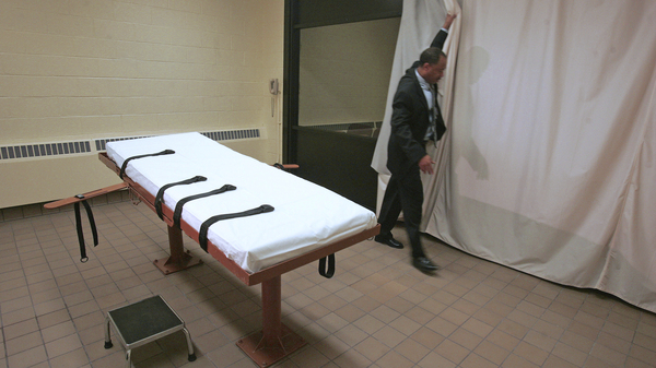 Inmate Ronald Phillips was executed at the Southern Ohio Correctional Facility in Lucasville, Ohio, on Wednesday morning. Above, the prison
