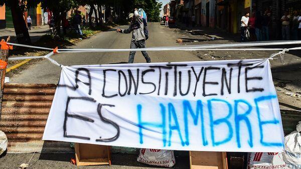 As Venezuelans Strike, U.S. Announces Sanctions Against Maduro