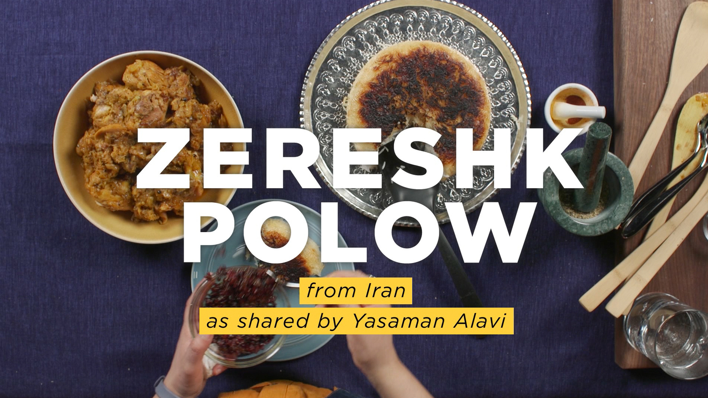 An iranian american shares her recipe for zereshk polow a classic an iranian american shares her recipe for zereshk polow a classic rice dish goats and soda npr forumfinder Choice Image