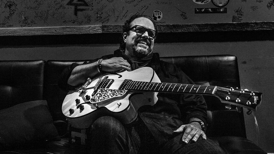 New Lease On Life after surviving a nashville flood, raul malo's gibson guitar gets
