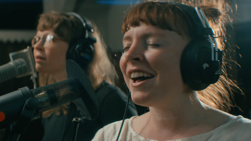 Sylvan Esso: 'Radio' From The Echo Mountain Sessions
