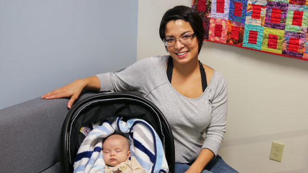 """Shannon McGrath, pictured with her son Rayder, says it has been a lot easier to make her medical appointments recently, thanks to help from a """"patient navigator"""" — assigned to her by Kaiser Permanente — who arranged McGrath"""