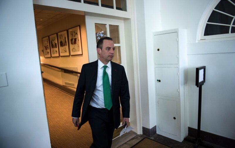 Trump Taps New Special Education Chief >> Reince Priebus Chief Of Staff Is Out In Biggest White House Staff