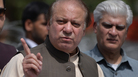 Pakistan's Prime Minister Nawaz Sharif, seen here on the day he spoke to an anti-corruption commission at the Federal Judicial Academy in Islamabad last month, has been disqualified from office.